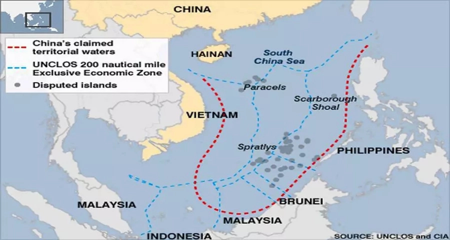 Chinese foreign minister claims more countries side with them on SCS dispute