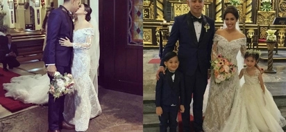 Classy and dreamy! Sneak peek at the star-studded wedding of Karel Marquez and Sean Fariñas