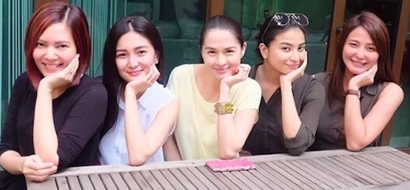 Tunay na pagkakaibigan! Marian Rivera bonds with fellow Kapuso actress-turned-friends