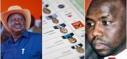 Raila has printed fake pre-marked ballots - Murkomen