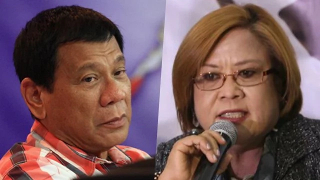 De Lima's official statement on Duterte's tirades against her