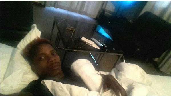 Eric Omondi and his fiancee show us romantic bedtime goals