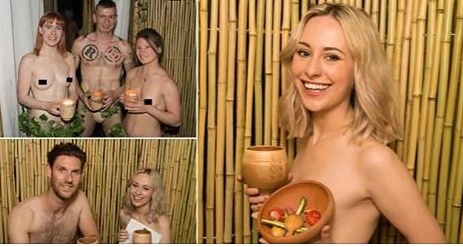 Strip and eat at the new naked restaurant in London