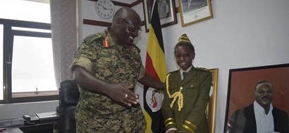 Amazing: 8-year-old girl becomes Army Chief (photos)