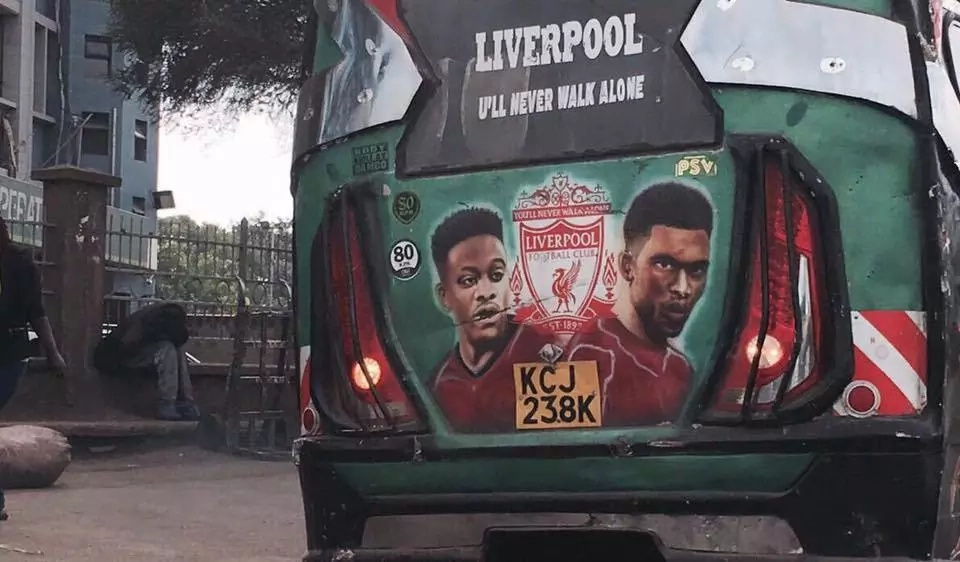The Liverpool striker who speaks fluent Swahili and the message he has sent to Kenyans (video)