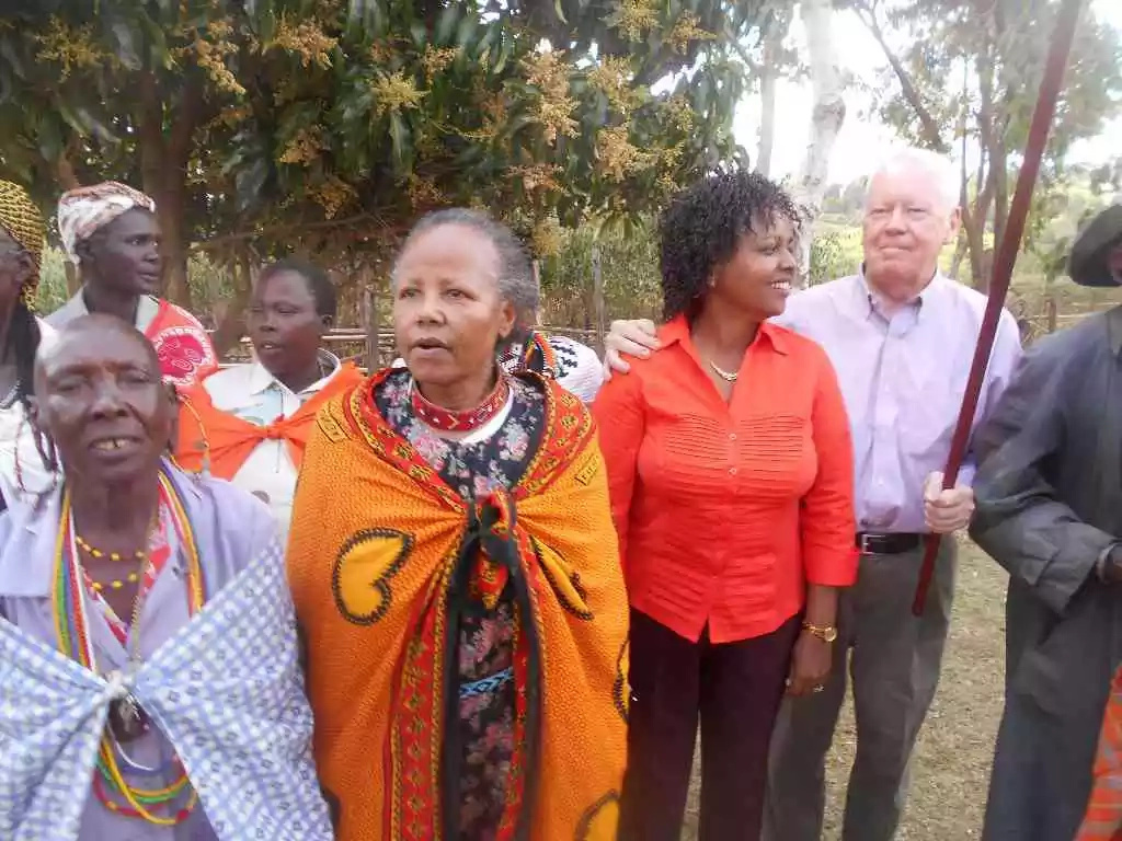 Popular billionaire marries a simple Maasai girl