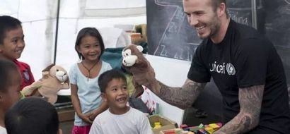 OMG! Find out why a young Filipina made David Beckham cry