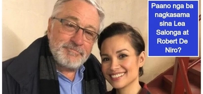 Parehong legend! Lea Salonga wows netizens by posting her photo with Hollywood icon Robert De Niro