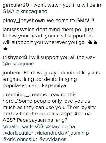Kris Aquino stays mum on her rumored transfer to GMA