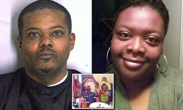 Sad! Man shoots his new bride dead, places body in car with her 4 young kids (photos)