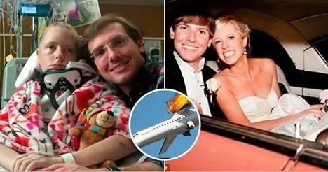 Escribía una carta a su esposo mientras el avión en que viajaba caía. Y luego…