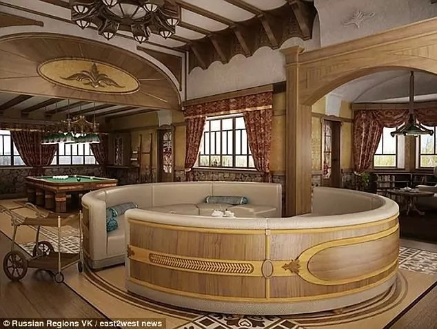 Is this the world's most expensive holiday home? See inside of Vladimir Putin' new lavish home
