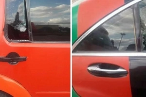 How Mike Sonko was attacked by mad Gor Mahia fans on Mombasa road