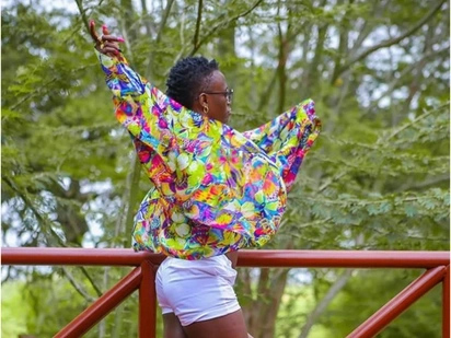 Akothee again, sassy singer steps out in skimpy dressing during sensual photoshoot