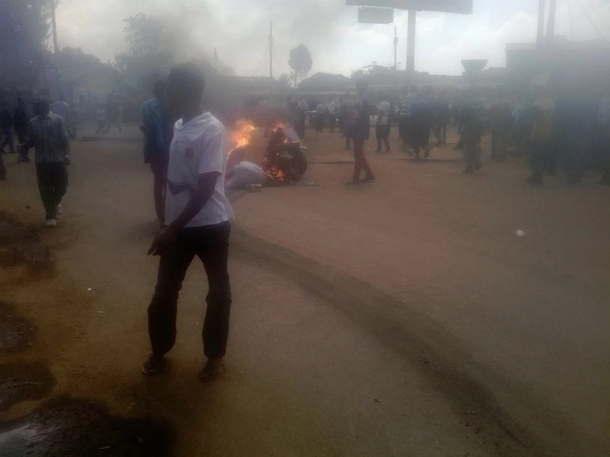 Tension after Kibera riots