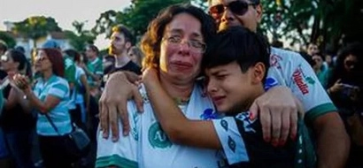 Niño de 10 años se convierte en héroe al salvar a un jugador del Chapecoense del accidente de avión