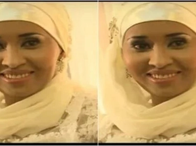 Beautiful photos of Citizen TV's Hussein Mohamed's wife