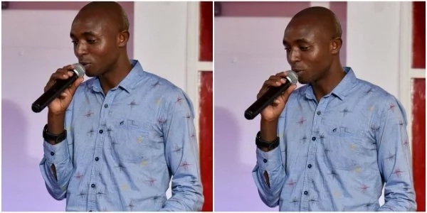 Radio presenter tears into Churchill Show comedian Njoro over an old man
