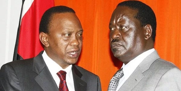 The staggering amount of money Uhuru and Raila will part ways with to dispute August polls