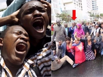 Kenyan MP's shame Kenya in Geneva Switzerland in front of the whole world