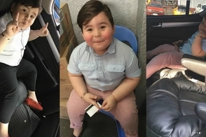 Baeby Baste finally owns his most priced toy, an SUV which he bought at the age of 4