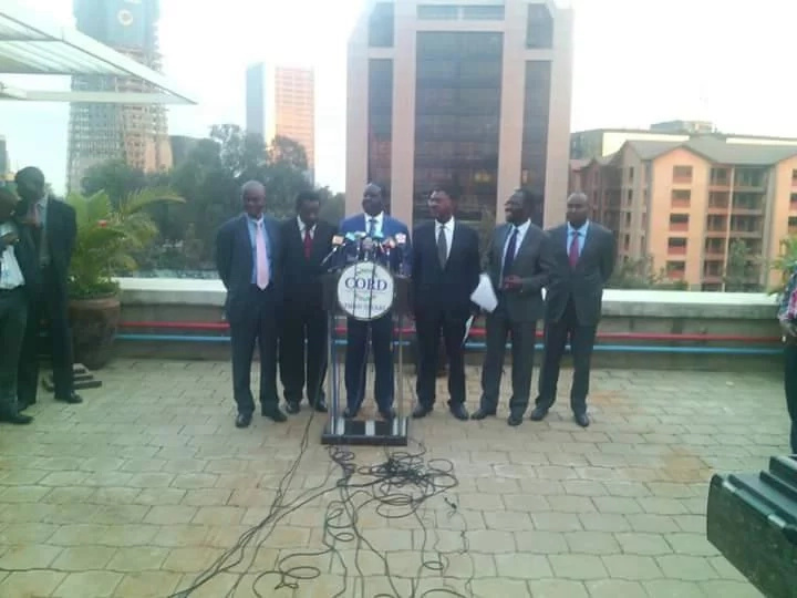 Kalonzo Musyoka denies walking out of CORD meeting