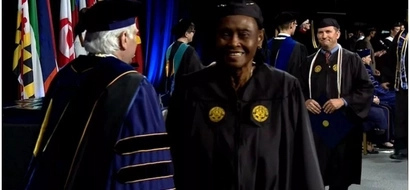 """Education is the key:"" Joy as great-grandmother, 79, graduates from college (photos, video)"