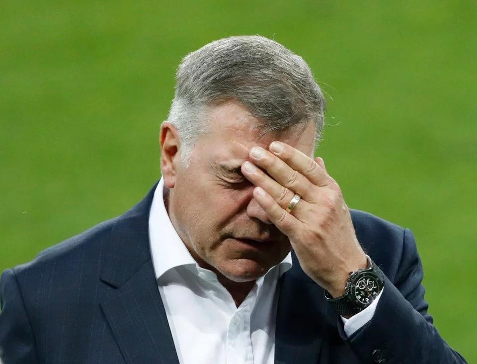 Sam Allardyce fired as England manager