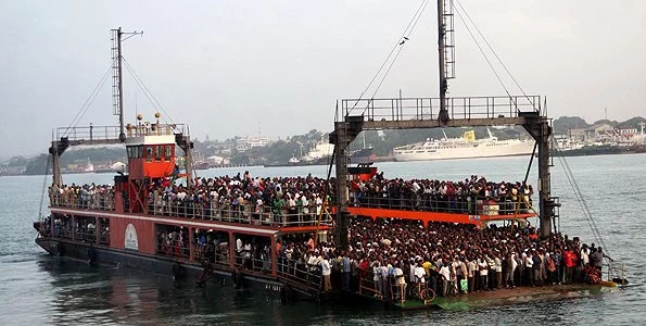Kiambu man says God sent him to jump off ferry in Mombasa
