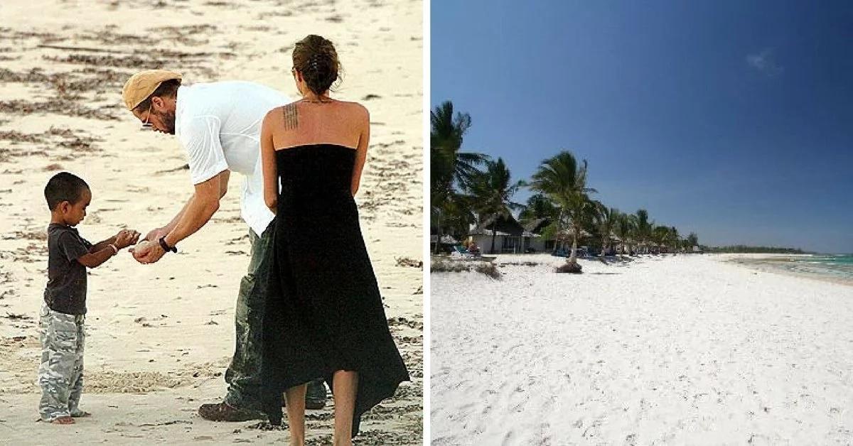 How Angelina Jolie and Pitt affair started at a Kenyan beach
