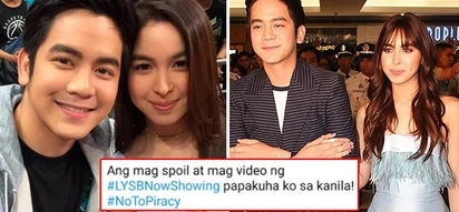 Papakuha sa alien mga walanghiya! Julia Barretto and Joshua Garcia make earnest appeal to watch movie in cinemas and shun piracy