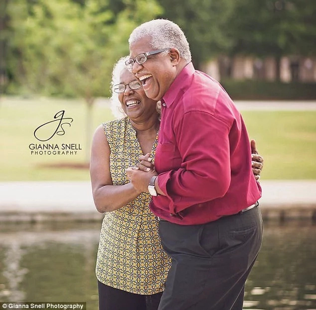 Love knows no age. Photo: Gianna Snell Photography