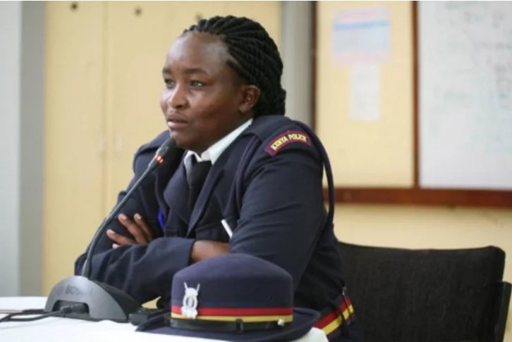 Police vetting panel questions corporal's English KCSE grade