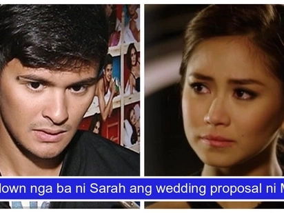 Binusted ba siya? Matteo Guidicelli answers rumor about Sarah Geronimo saying 'no' to his wedding proposal