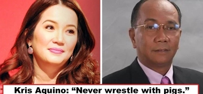 Wag daw pumatol sa mga baboy! Kris Aquino posts cryptic IG message 'never wrestle with pigs' Is this her response to Jay Sonza's rude remarks on Bimb?