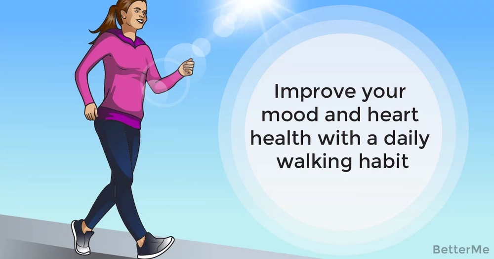 Improve your mood and heart health with a daily walking habit