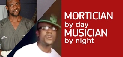 Meet the musician mortician from Nairobi who adores both of his jobs (video)