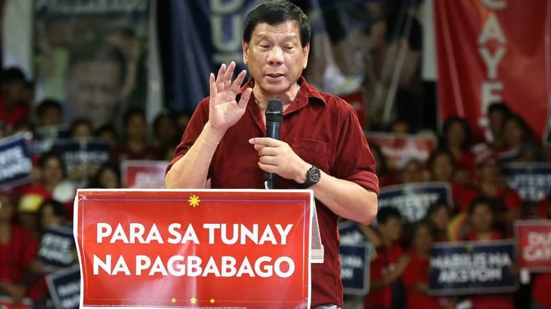 Duterte vows to change behavior
