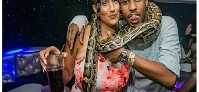 Governor Kabogo's son introduces his hot Arabian girlfriend