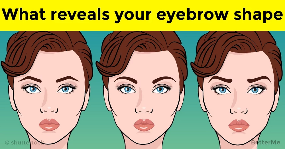 What your eyebrow shape can reveal about your love