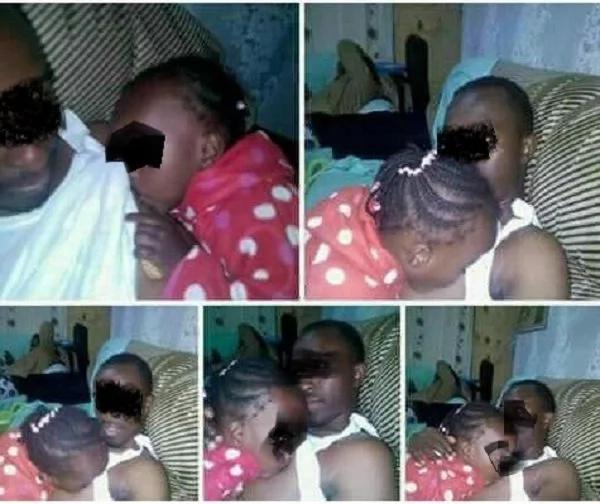 Man posts photo 'breastfeeding' his daughter and peolple go wild