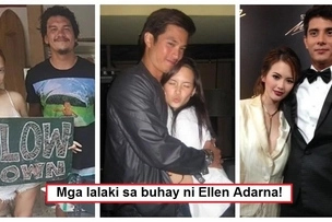 7 Pinoy men who were romantically linked with Ellen Adarna before she became John Lloyd Cruz's girlfriend