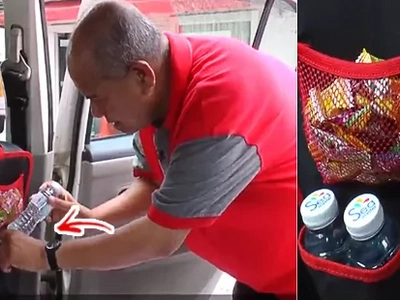 Basta Driver, Sweet Lover: GRAB Driver Earns Praises for Stocking Up on Free Food and Water for Passengers