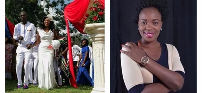 Gospel singer Florence Andenyi thanks fans as she ties the knot (photos)