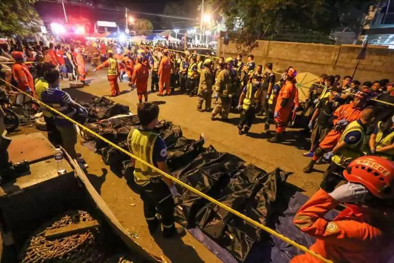 Bato dela Rosa says gov't is not involved in Davao explosion