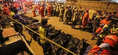 Man leaves bag prior to Davao blast
