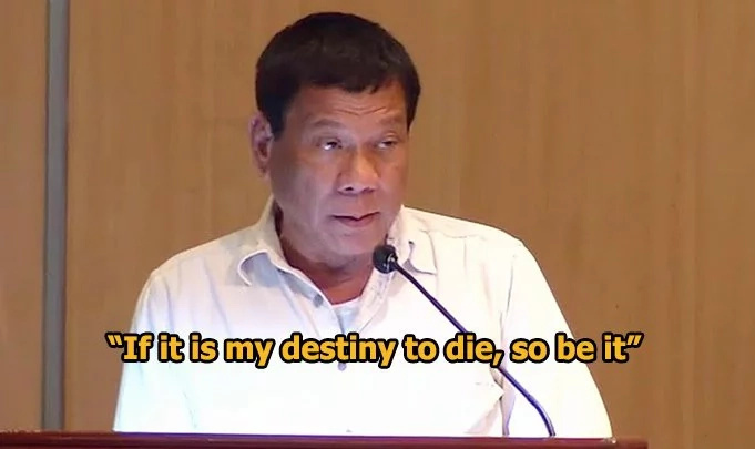 Thwarted attempt on Duterte's life revealed