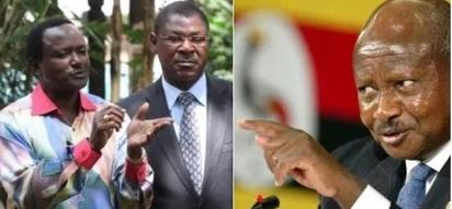 Kalonzo Musyoka heaps praise on Uganda's President Yoweri Museveni