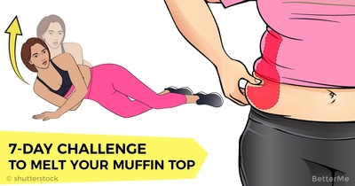 7-day challenge to melt your muffin top and get back into your cutest summer clothes