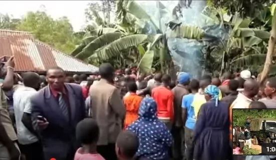 Nyamira man slaughters his two kids, killed by villagers